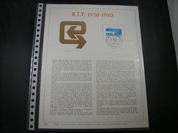 "BELG.1980 1969 Filatelic Gold Card FR. : "" R.T.T. 1930-1980 "" - 1971-80"