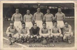 Carte Photo : Football , Equipe Du Red Star , Année 1944 / 45 , Photo Des Joueurs - Calcio