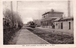 SAINT LAURENT DU VAR-GARE- - Saint-Laurent-du-Var