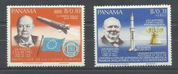 PANAMA YVERT AEREO  413/14      MNH  ** - Panamá
