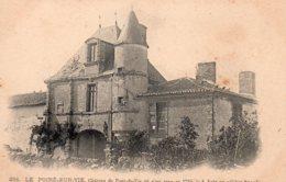 Le Poiré Sur Vie : Château De Pont-de-Vie - Poiré-sur-Vie