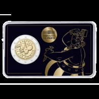 2. Coincard A 2 Euro, 2019, Frankreich, Zum 60 Jubilaeum, - Obelix  -       Muenzen,Coins,Euros - France