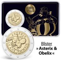 3. Coincard A 2 Euro, 2019, Frankreich, Zum 60 Jubilaeum, Asterix Und Obelix            Muenzen,Coins,Euros - France