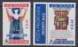 Europa Cept  2003 Vatican City 2v ** Mnh (43620C) - Ongebruikt