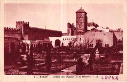 MAROC - RABAT JARDINS DES OUDAIS ET LA MEDERSA - Rabat