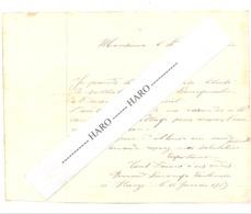 Commune De Harzé - Demande De Raccordement à La Conduite D'eau En 1929 - Marcophilie,....  (b255) - Manuscrits
