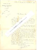 Très Gentille Lettre Adressée Au Cantonnier De Harzé Par L'ancien Commisaire Voyer D'Esneux En 1930. Villers  (b255) - Manuscrits