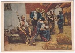 La Paga - L. Lhermitte - (Léon Augustin, 1844-1925) - (Museo Del Louvre, Paris) - Schilderijen