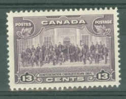 Canada: 1935   KGV - Pictorial   SG348    13c     MH - Unused Stamps