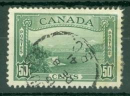 Canada: 1937/38   Vancouver Harbour Entrance   SG366    50c    Used - 1937-1952 Règne De George VI