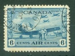 Canada: 1942/48   War Effort - Air   SG399    6c     Used - 1937-1952 Règne De George VI