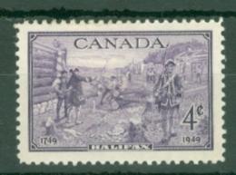 Canada: 1949   Bicentenary Of Halifax     MH - 1937-1952 Règne De George VI