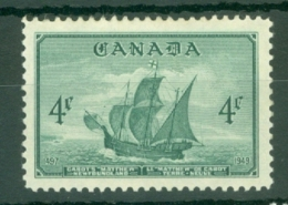 Canada: 1949   Entry Of Newfoundland Into Canadian Federation     MH - 1937-1952 Règne De George VI