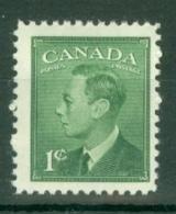 Canada: 1949/51   KGVI (inscr. 'Postes  Postage')    SG414     1c     MH - 1937-1952 Règne De George VI