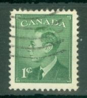 Canada: 1950   KGVI     SG424     1c       Used - 1937-1952 Règne De George VI