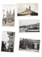 Marseille  1937 9 Photos ( 5 En Scans) 11x7,5 - Places
