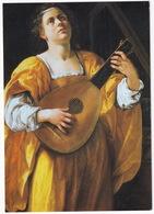 St Cecilia Playing A Lute, C. 1616 - Oil On Canvas - Galleria Spada, Roma - Schilderijen