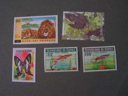 Rwandaise  Lot Tiere  ** MNH - Ruanda