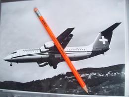 FOTOGRAFIA AEREO BaE 146 CROSSAIR    HB-IXZ - Aviation