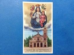 SANTINO HOLY CARD MARIA SS. DEL PETTORUTO EDIZIONE EB 2/391 - Santini