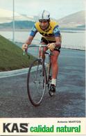 MARTOS Antonio ESP (Guadalcázar (Andalucia), 27-11-'46) 1973 KAS - Kaskol - Cycling