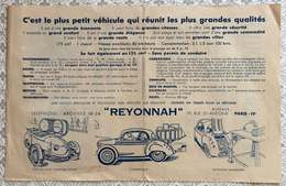 REYONNAH 1951 - Automobile