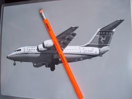 FOTOGRAFIA AEREO BaE 146   MANX  G-OJET - Aviation