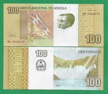 ANGOLA - 100 KWANZAS – 2012 - UNC - Angola
