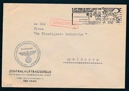 DEUTSCHE DIENSTPOST NIEDERLANDE - Briefomslag Dd 13-05-1942 Den Haag >> Apeldoorn (ref. 1605) - 1891-1948 (Wilhelmine)