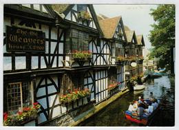 "CANTERBURY   ""WEAVERS""  HOUSE  AND THE  RUVER  STOUR AT KING'S BRIDGE      (VIAGGIATA) - Canterbury"