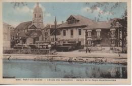 70 PORT-sur-SAONE L'Ecole Des Gazogènes - Garage De La Régie Départementale - Other Municipalities