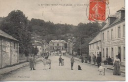 27 LA RIVIERE-THIBOUVILLE  La Grande Rue (3) - Andere Gemeenten