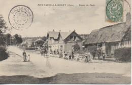 27 FONTAINE-la-SORET  Route De Paris - Andere Gemeenten