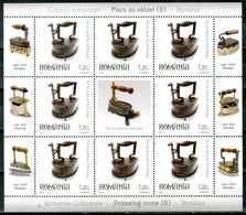 ROMANIA 2012** - Fier De Calcat - Sec. XIX Belgia - Block MNH, Come Da Scansione. - 1948-.... Repubbliche