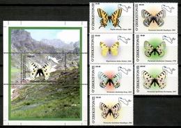 Uzbekistan 2006 / Butterflies MNH Mariposas Papillons Schmetterlinge / Cu13632  29-17 - Mariposas