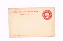 Entier Postal à 2 Centavos. - Mexique