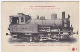 Les Locomotives (Allemandes) - Chemin De Fer De Gaildorf, Untergröningen (Voie De 1m435) - Bateaux