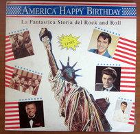 America Happy Birthday - La Fantastica Storia Del Rock And Roll (2LP) VINYL - Compilations