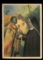 C1731 MISSIONS MISSIONI DEI SERVI DI MARIA IN VIA SAN MARCELLO ROMA - LA MADRE DEI BIMBI ABBANDONATI VG 1947 - Missioni
