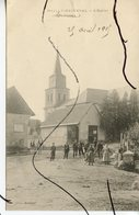 CPA . D80 .  Mailly Raineval . L'Eglise. - France