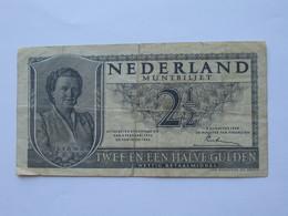2 1/2 Gulden 1943 - Nederland Muntbiljet - Twee En Een Halve Gulden  **** EN  ACHAT IMMEDIAT  **** - [2] 1815-… : Koninkrijk Der Verenigde Nederlanden