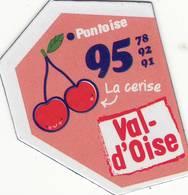 Magnet Le Gaulois Depart'aimant 95-78-91-92 Version 2017 - Publicitaires