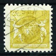 Liechtenstein Nº 44B (dentado-9 1/2) USADO - Liechtenstein