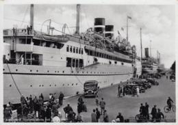 AK - KOPENHAGEN - Dampfer Am Langelinie Pier Mit Automobilen 1938 - Dänemark
