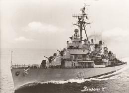 """AK - Deutsche Marine - ZERSTÖRER """"2"""" 1967 - Krieg"""