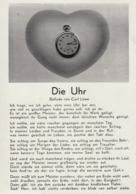 AK- Die UHR -  Ballade Von Carl Löwe - Philosophie
