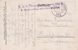 AK- WK I - Annäherung - K.k. Dragoner Regiment No 5 - Maschinengewehr Schwadron - 1917 - Weltkrieg 1914-18