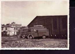 Photo 2cv Fourgonette Et Camion Citroen - Automobiles