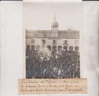 MANIFESTATION DES VIGNERONS A BAR SUR AUBE  LA MAIRIE LA MUSIQUE 18*13CM Maurice-Louis BRANGER PARÍS (1874-1950) - Lugares