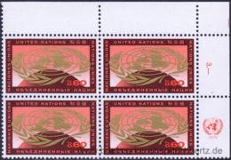UNO Genf 1970, Mi. 9-10 EV ** - Ginebra - Oficina De Las Naciones Unidas